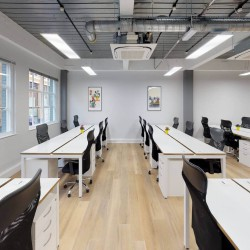 Open plan serviced office space for rent at 2 Bath Place, Shoreditch for businesses who need private offices on flexible contracts.