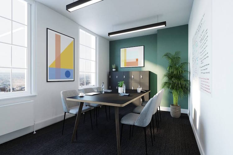 Yours. by Work.Life – 66 Grosvenor Street provides collaboration areas where office workers can brainstorm ideas or discuss pertinent topics.