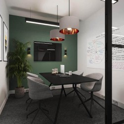 Dedicated meeting room in a self-contained managed office at Yours. by Work.Life – 66 Grosvenor Street.