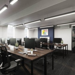 Self-contained office space, filled with natural light by Yours. by Work.Life – 66 Grosvenor Street.