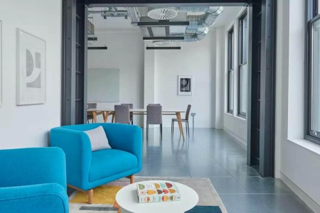 123 Curtain Road Breakout Space