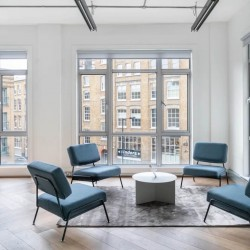 Dedicated breakout space within a self-contained office at 27 Provost St.