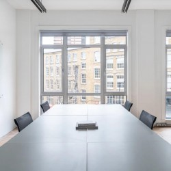 Private office at 27 Provost St, Shoreditch, enabling companies to separate internal teams whilst having the privacy of their own self-contained office.