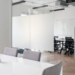 Dedicated meeting room in a self-contained office at 27 Provost St, Shoreditch, offered by flexible workspace provider Breather.