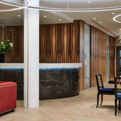 Beaumont Business Centre in 44 Southampton Buildings, Chancery Lane, boasts a striking reception to provide an impressive sense of arrival for your guests.
