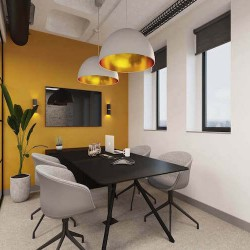 A managed office space customised around your business, with self-contained meeting rooms and amenities for businesses to use.