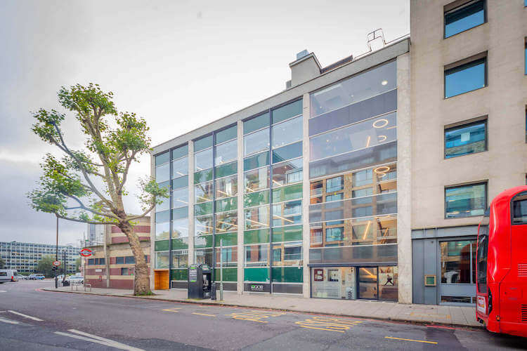 Building exterior of this Flexible Workspace in Marshalsea Road, Borough offering business' customisable office space.