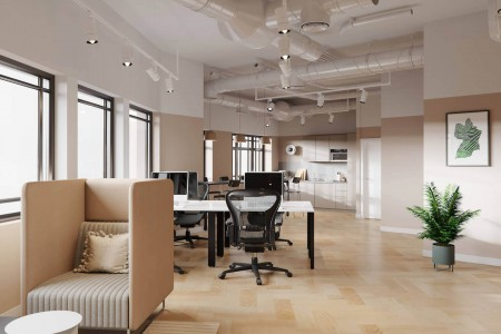 3rd floor Office Space in Gough Square, Chancery Lane, offering businesses the opportunity to design the space bespoke to their own requirements.