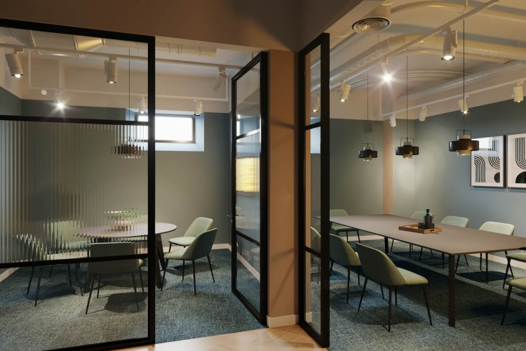 Stunning meeting rooms for teams/businesses to use at this Serviced Office Space in Gough Square, Chancery Lane.