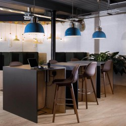 Hot-desking space allowing individuals/businesses to work away from their desks at this serviced office space in Horsell Rd, Highbury & Islington.