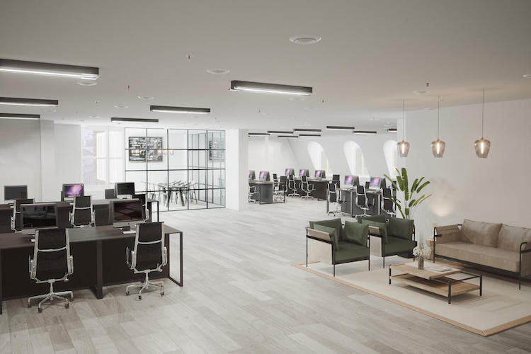 Self-contained office space in 65 Curzon Street, Mayfair, offering SME's and corporates the opportunity to house their business in a prestigious serviced office building filled with natural light by Business Cube.