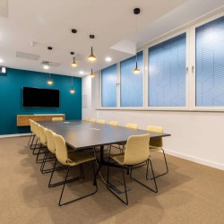 Spaces Farringdon Road provides meeting room space for office occupiers