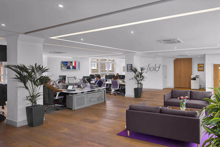 1st floor office space at The Flat Iron Building offering SME's and Corporates flexible office space to occupy on flexible terms.