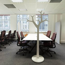Open-plan serviced office space in Lincoln House, High Holborn to accommodate businesses of all sizes.