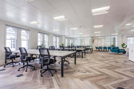 This newly refurbished self-contained office space on Lime Street is situated in the heart of London's insurance district for businesses to rent on flexible terms.