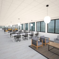 Breakout space and soft seating for businesses who occupy this serviced office space at London Bridge Walk, minutes from London Bridge station.
