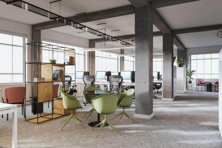 Managed office space at Kingsbourne House, 229-231 High Holborn, London WC1V 7EG for businesses who need self-contained offices for 50+ staff on flexible terms.