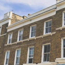 Serviced Office building in the heart of Notting Hill Gate offering businesses small and medium-sized private offices to rent from £300 on flexible terms.