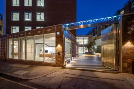 Brownlow Yard Flexible Workspace building