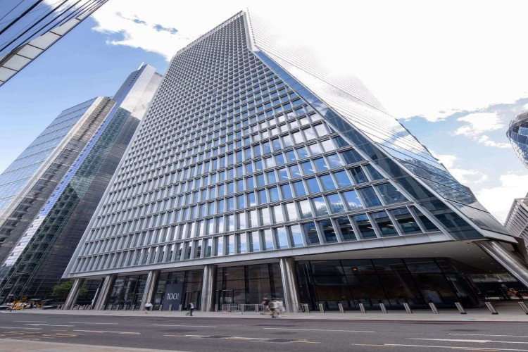 100 Bishopsgate offers premium flexible workspace ideally positioned in the heart of London's financial district.