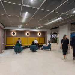 Luxurious reception at MYO 123 Victoria Street to meet & greet office occupiers at the flexible workspace building.