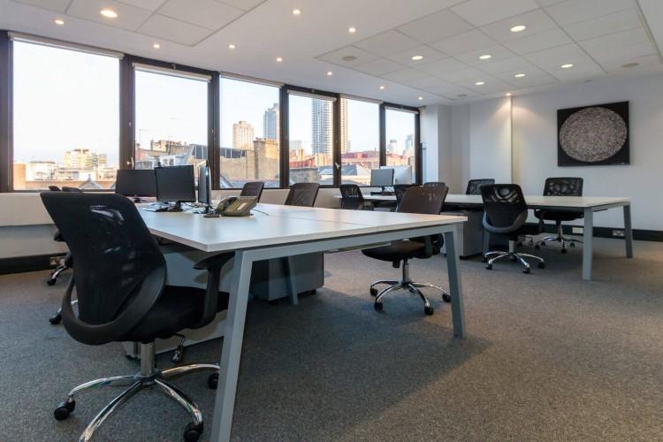 5 St John's Lane 12-person serviced office to rent near Farringdon Station.